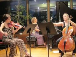 TwoSense doing Bresnick Trio with Courtney Orlando