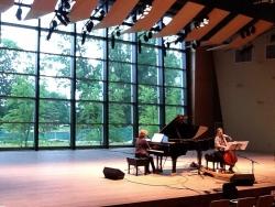 Saratoga Zankei dress rehearsal w/ Ashley Bathgate, June 2011