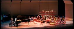 Performing Lou Harrison's concerto with Sumarsam & Wesleyan Gamelan, George Washington University, DC, March 2011