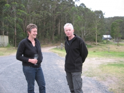 Justy Phillips and Leigh Hobba, Bundanon