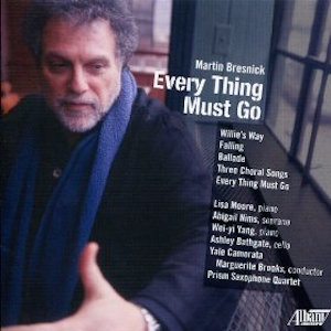Everything Must Go - Martin Bresnick