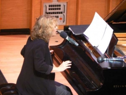Performing De Profundis, Merkin Hall, Oct '08
