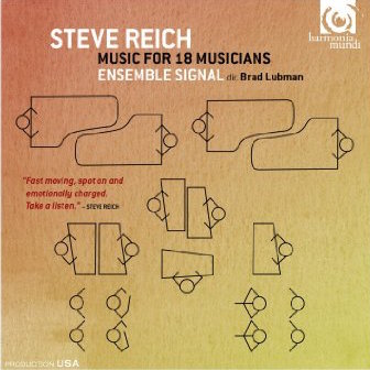 Music for Eighteen Musicians (wins Diaposan D'or) with Ensemble Signal