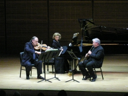 In Zankel performing Bresnick's *** with Jesse Levine and David Shifrin, Nov 06