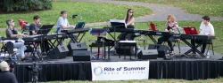 Grand Band at Rite of Summer, Governor's Island NYC