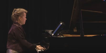 Lisa Moore performing Etudes and Preludes by Alexander Scriabin