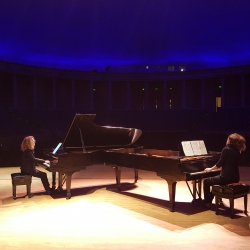 "Doing the Bach ""Goldbergs"" with Sonya Lifschitz, Peristyle Theatre,