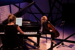 with Ashley Bathgate - Bresnick@70 National Sawdust, Nov 6 2016 photo Jill Steinberg
