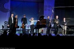 performing Janacek's Concertino @ Canberra Int. Music Festival 2017