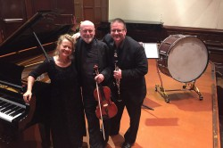 """The Dean Moore Dean Trio, Elder Hall 2015, with Paul and Brett, Recitals Australia"""